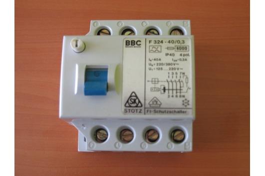 Fi-Schutzschalter, BBC,