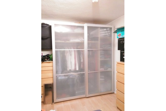 Schlafzimmer Schrank Weiß Gebraucht: Rauch 270cm kleiderschrank ...