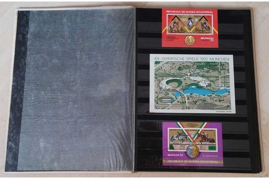 16seitiges Briefmarkenalbum mit