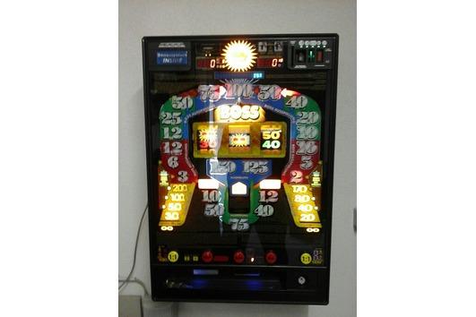 Geldspielautomat Euro an