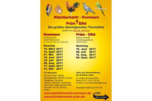 Kleintiermarkt Prüm Eifel