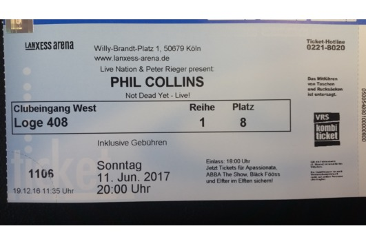 Phil Collins 11.