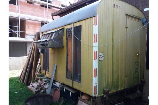 Taubenschlag Bauwagen zu