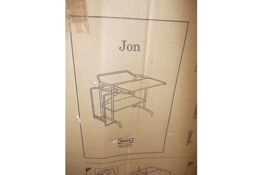 IKEA Computertisch JON gebraucht kaufen  Wunstorf