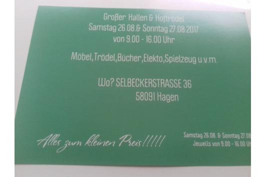 Hallen & Hoftrödel 26.