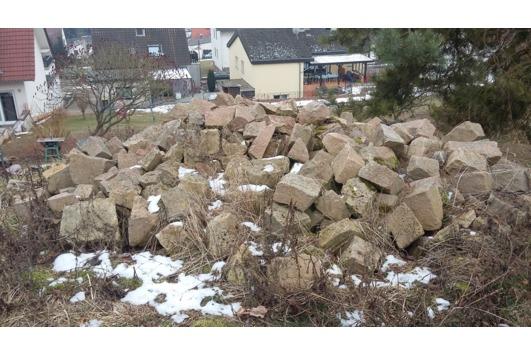 Pflastersteine-Mauersteine