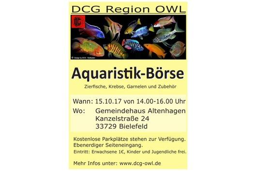 Aquaristikbörse der DCG-