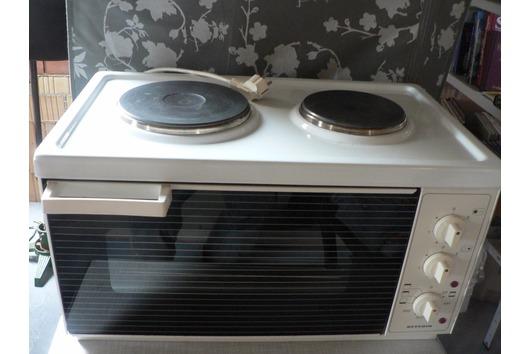 2-Platten Elektroherd