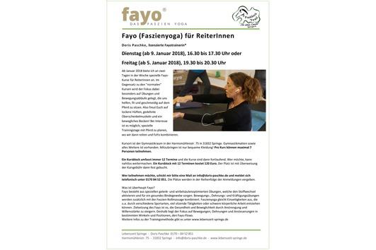 Fayo (Faszienyoga) für