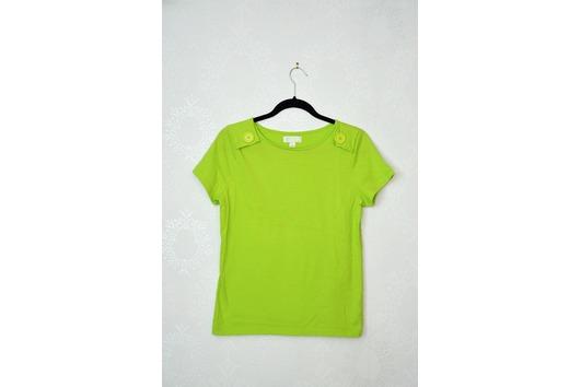 Shirt Apfelgrün Knöpfe
