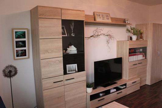 Moderne Wohnwand (Sonoma